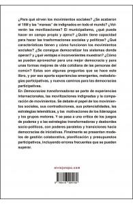 Democracias Transformadoras. Experiencias emergentes y alternativas desde los comunes.